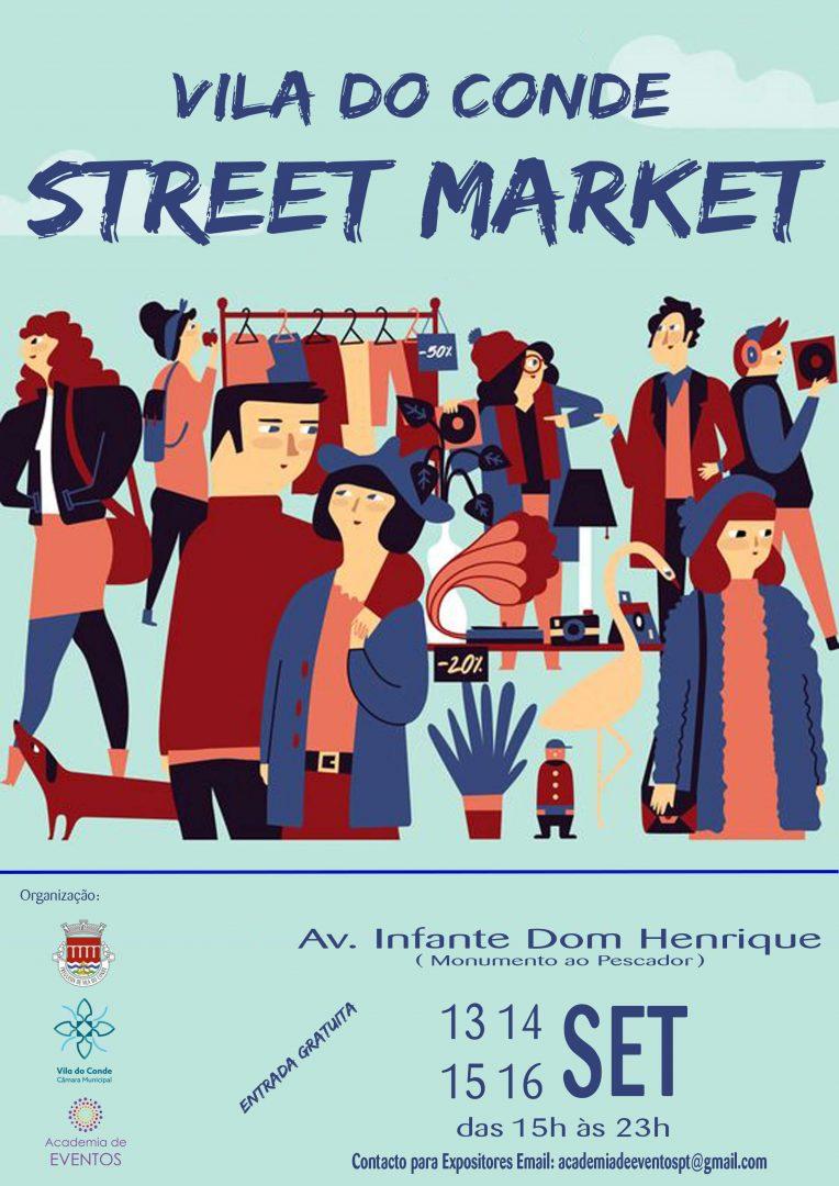 Cartaz Street Market