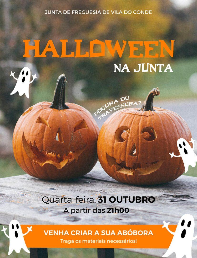 Cartaz Halloween destaque