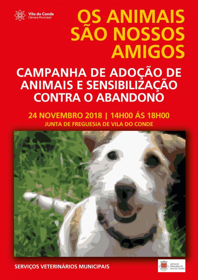 Cartaz Adoção Junta de Freguesia de Vila do Conde