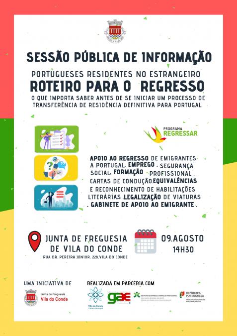 Roteiro para o Regresso – o que Importa Saber no Regresso a Portugal