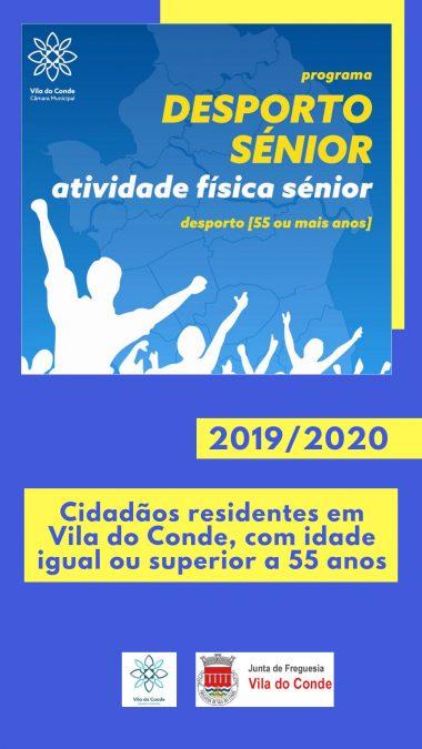 Desporto Sénior 2019–2020