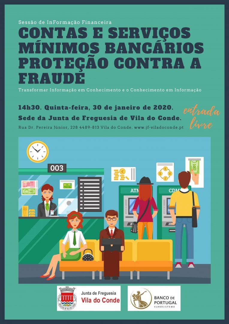 Sessão de (IN)Formação Financeira / 30.01.2019, 14h30 / Salão Nobre da Junta de Freguesia de Vila do Conde