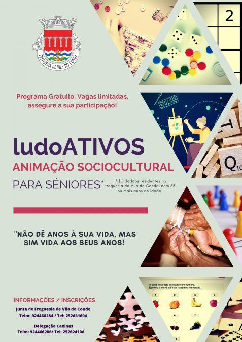 LudoATIVOS, um programa de animação sociocultural a pensar nos nossos Séniores