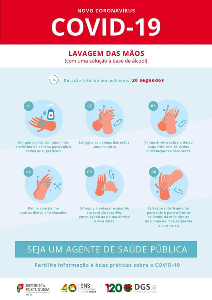 COMUNICADO COVID-19 - Medidas Preventivas (atualização) - Junta de ...