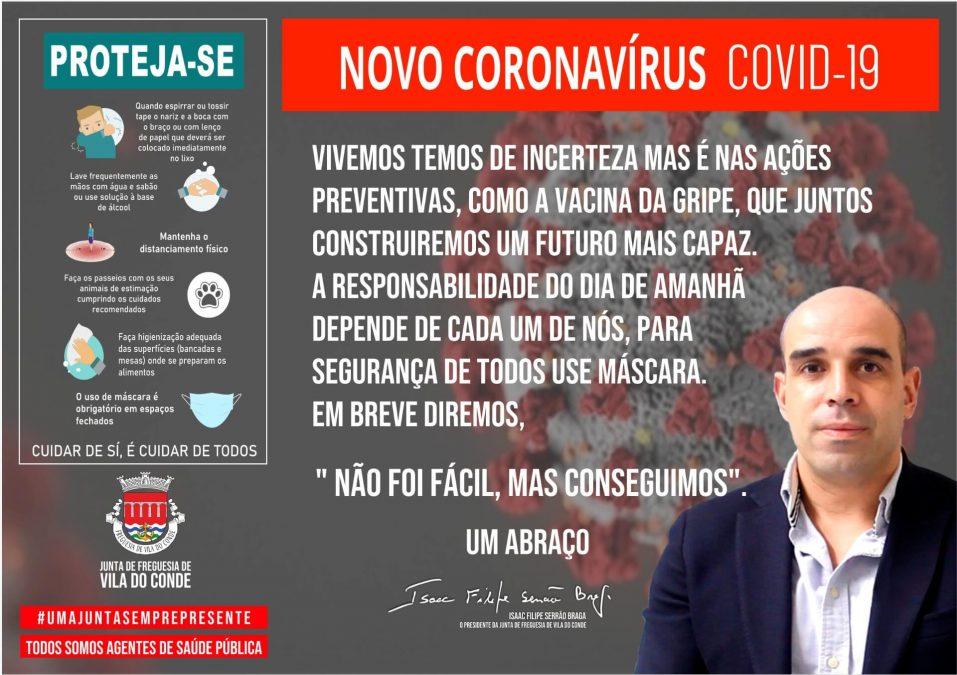 Novo Coronavírus COVID-19